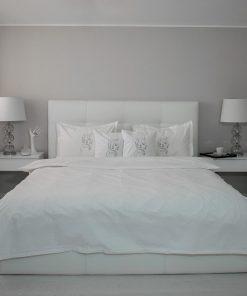 Lenjerie de pat alba principal