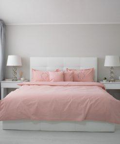 Lenjerie de pat roz principal