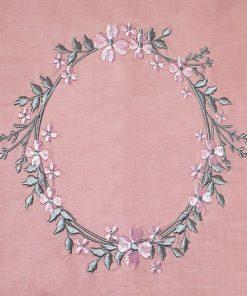 Lenjerie de pat roz tert