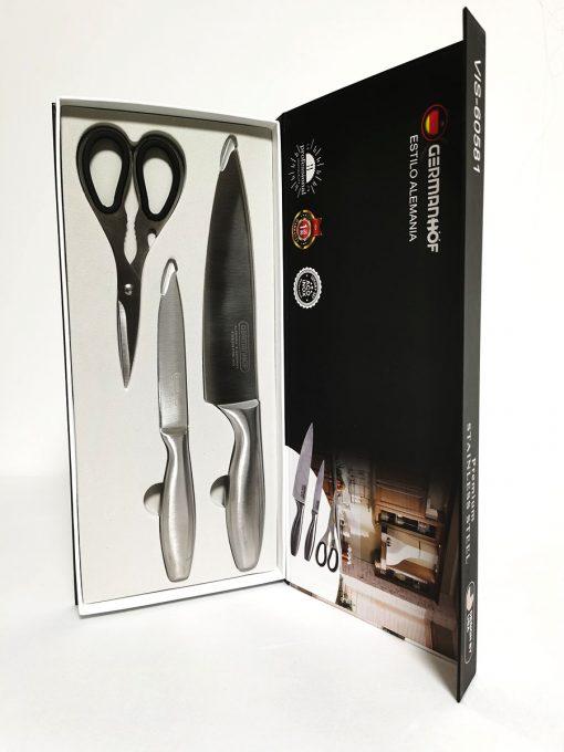 Set 2 cuțite și foarfecă principal