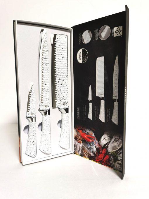 Set 3 cuțite design piatră principal