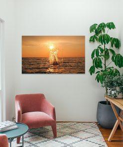 Tablou Canvas Stropi de soare