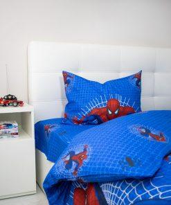 Lenjerie de pat Spiderman - Tert