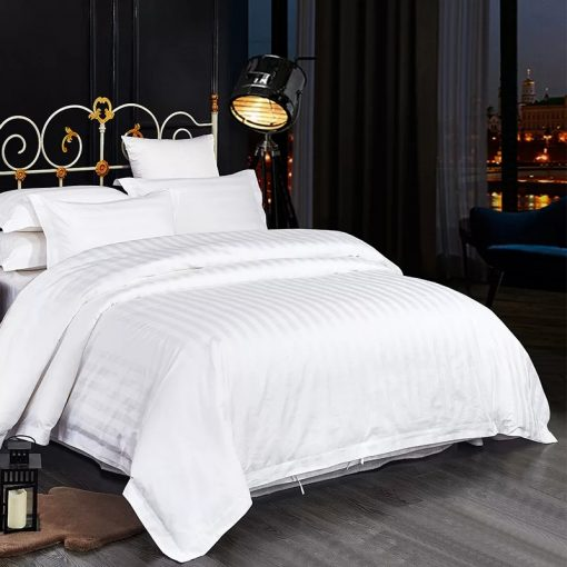 Lenjerie de pat premiuim damasc satinat principal