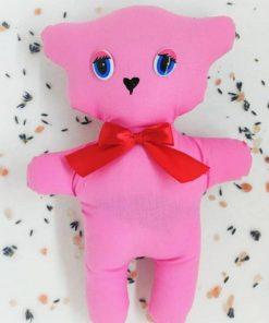 Ursuleț cu lavandă roz