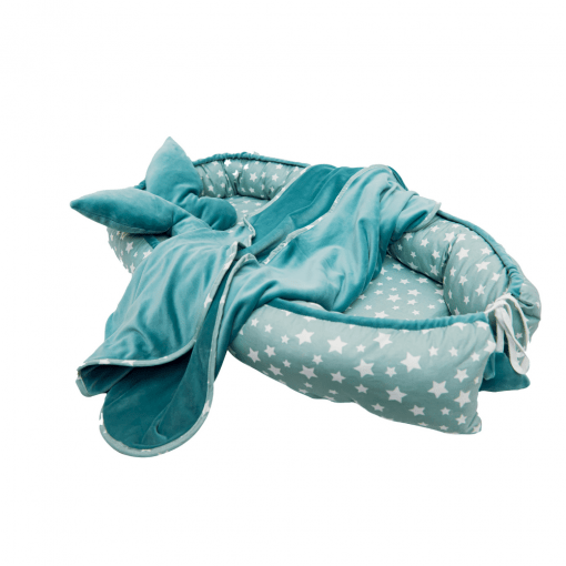 cuib bebelusi stelute turquoise5