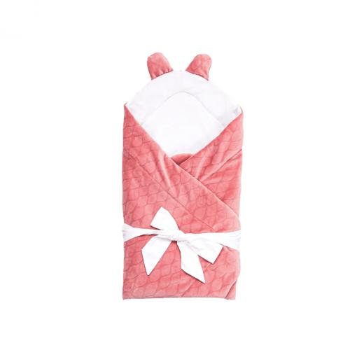 paturica de infasat multifunctionala roz1