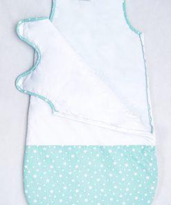 sac de dormit de iarna stelute turquoise 7 scaled 1