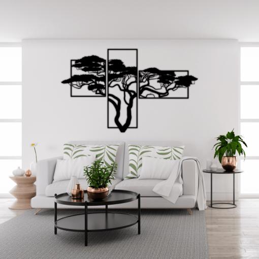 Decoratiune perete Copacul african 123x75 cm 165x100 cm