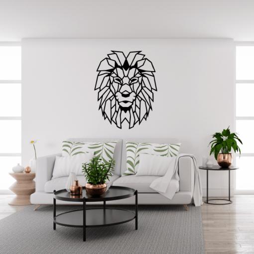 Decoratiune perete Leul 60x75 cm 80x100 cm