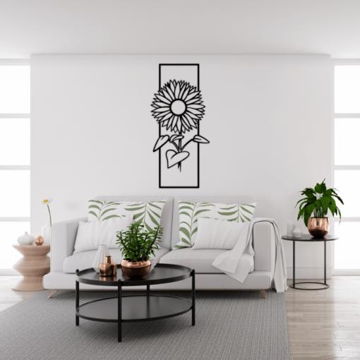Decoratiune perete Rasarita 35x75 cm 47x100 cm
