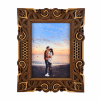 Rama foto mandala din lemn 001 26x21cm