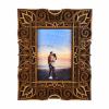 Rama foto mandala din lemn 003 26x21cm