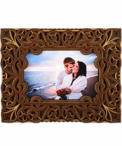 Rama foto mandala din lemn 004 1