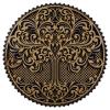 Tablou mandala din lemn Copacul vietii 50x50cm