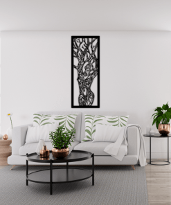 decoratiune perete silueta copacului 46 9334