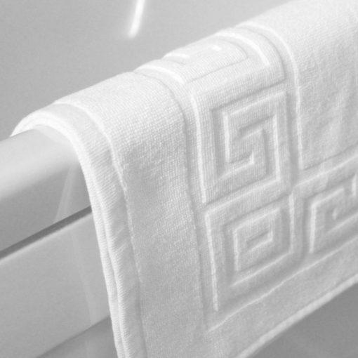 prosop pentru baie greek border alb hotel bumbac2 1000x1000 1